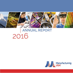 Manufacturing USA Annual Report, Fiscal Year 2016